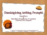 Writing Prompts {Thanksgiving-Themed} Intermediate