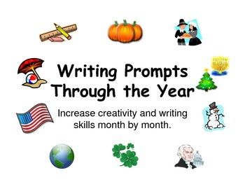 Writing Prompts Through the Year