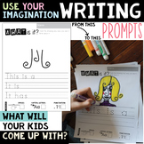 Writing Prompts - Use Your Imagination - Draw and Write