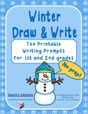 Writing Prompts:  Winter Draw & Write!  No Prep for 1st or 2nd