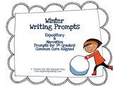 Writing Prompts {Winter-Themed} Intermediate