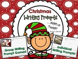 Writing Prompts With a Twist {Christmas}