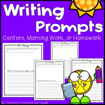 Writing Prompts {Worksheets}