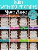 Writing Prompts YEAR LONG Bundle {September - August} #bun