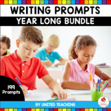 Writing Prompts Year Long Bundle (Distance Learning)