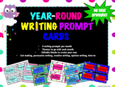 Writing Prompt Cards-Year Round!