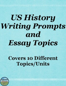 US History Writing Prompts and Essay Topics