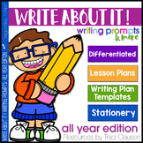 Writing Prompts and Lessons - Write About It! All Year Edition