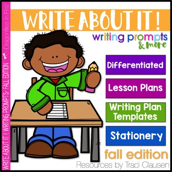 Writing Prompts and Lessons - Write About It! Fall Edition