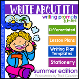 Writing Lessons and Writing Prompts - Write About It! Summ