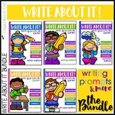 Writing Lessons and Writing Prompts - Write About It! The Bundle