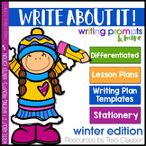 Writing Lessons and Writing Prompts - Write About It! Winter Edition