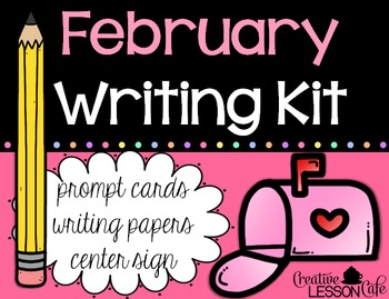 February Writing Prompts and Papers