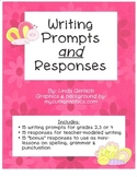 Writing Prompts and Responses for Grades 2, 3 or 4