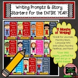 Bell Ringer Writing Prompts and Story Starters for the Ent