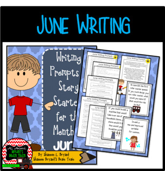 June Writing Prompts and Story Starters