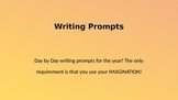 Writing Prompts for 6th grade