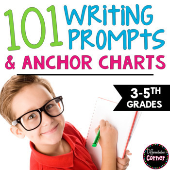 Writing Prompts ALL YEAR LONG! {Narrative, Informational,
