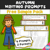 Writing Prompts for Autumn (free sample pack)
