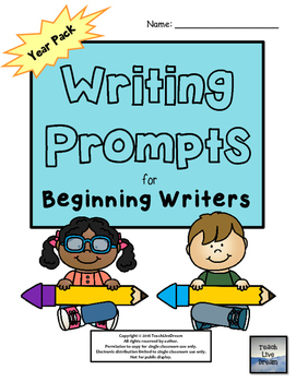 Writing Prompts for Beginning Writers (K-1)