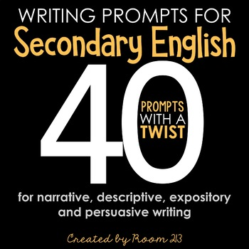 Writing Prompts for Building Skills & Stamina