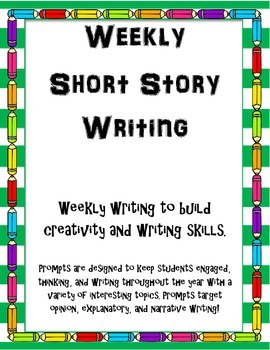 Writing Prompts for Daily or Weekly Writing/Journaling