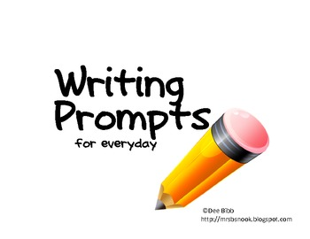 Writing Prompts for Everyday