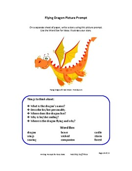 Creative Writing Prompts | Fairy Tales | Rubrics | Vocabulary Word Banks |Tips