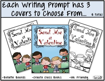February Writing Prompts for Class Share Time
