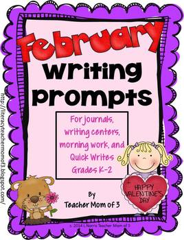 Writing Prompts for February