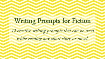 Writing Prompts for Fiction