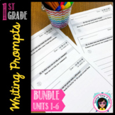 Writing Prompts Bundle for the whole year! - First Grade