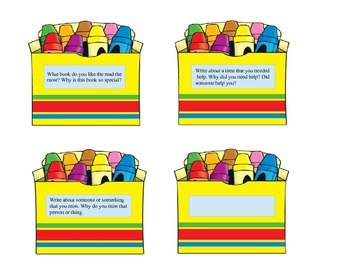 Writing Prompts for First Graders