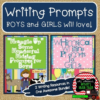 Writing Prompts for Girls and Boys (Bundle)