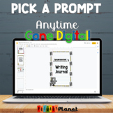 Digital Writing Prompts Google Drive, Microsoft One Drive: Anytime Pick A Prompt