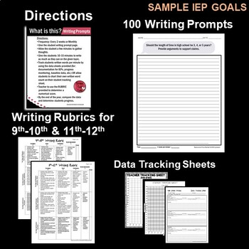 Writing Prompts for High School - Volume 1