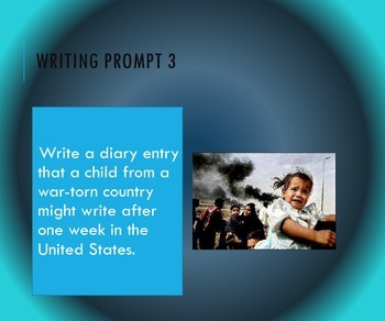 Writing Prompts for July