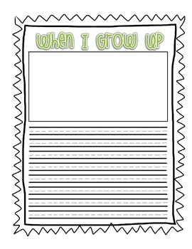 Writing Prompts for Lower Elementary