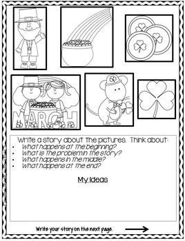 Writing Prompts for March {For journals and writing centers}