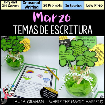 March Writing Prompts in Spanish