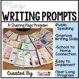 May Writing Prompts for Class Share Time