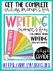 Writing Prompts for Middle Grade Writers {20 Free Prompts}