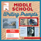 Writing Prompts for Middle Schoolers