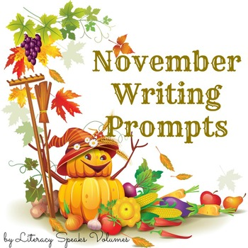 Writing Prompts for November