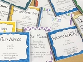 Writing Prompts for Picture Books Bundle, Class Books, Editable covers