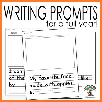 Writing Prompts for Preschool and Kindergarten