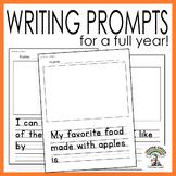 Writing Prompts for Preschool and Kindergarten