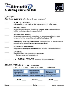 Writing Prompts for Quarterly Assessment Grade 3