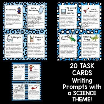 Writing Prompts with a Science Theme