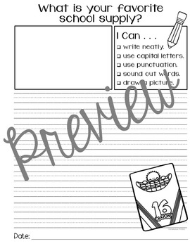Writing Prompts for September